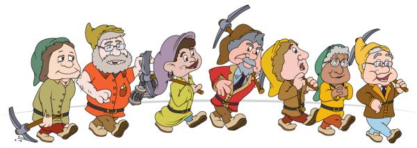 WCC Board of Trustees as the 7 dwarfs