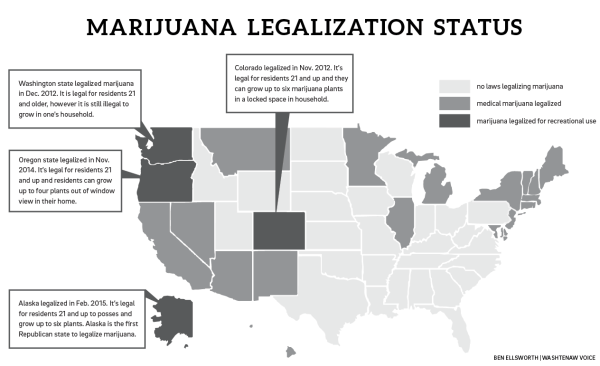 marijuana legalization status map