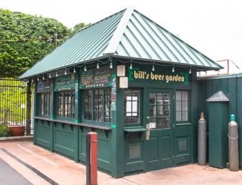 Bill's beer garden restaurant