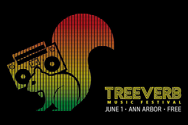 Treeverb music festival poster. Courtesy of Treeverb
