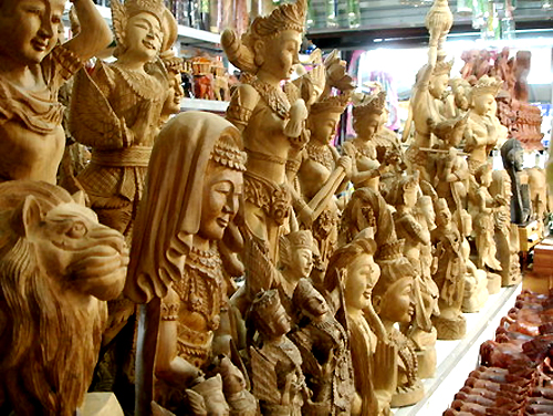 chiang mai famous for thailand art and handicrafts part1 wasila