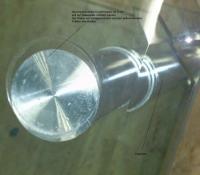 Glas mit Aluminium kleben - Aluminiumscheibe auf eine ...