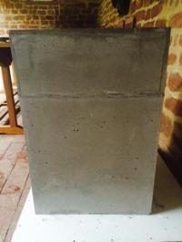 Wollfilz mit Beton kleben - Betontisch/Filz - wasklebtwas.de