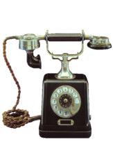 Fernsprecher bis 1960 Historische Telefone
