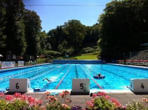 Freibad der Wasserfreunde Wuppertal im Sommer
