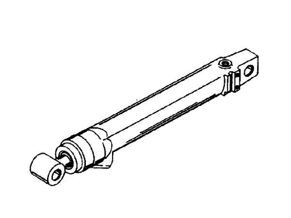 Quicksilver Trimmzylinder backbord MerCruiser Alpha One
