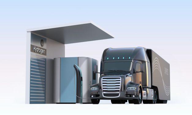 Fraunhofer Studie: Wieviele Wasserstoff Tankstellen sind für den Schwerlastverkehr (LKW) nötig?
