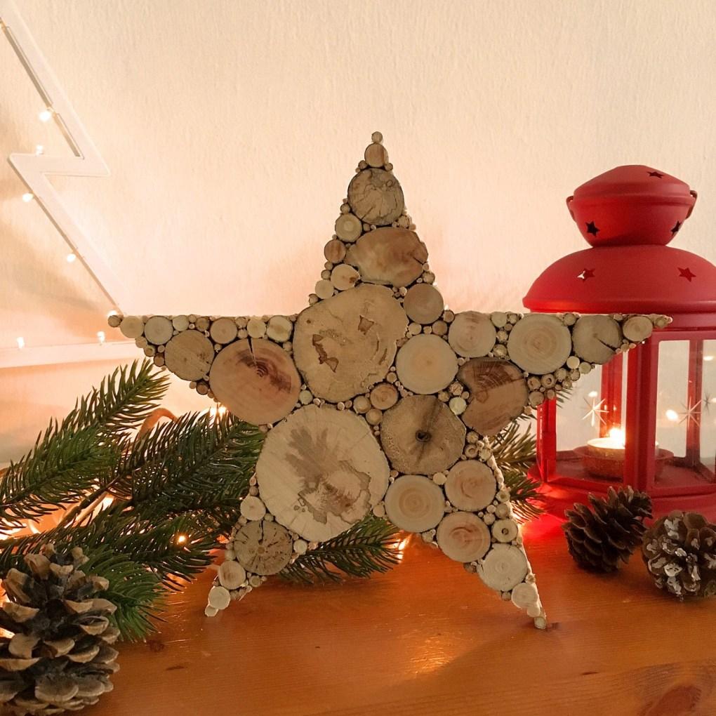 Stern aus Treibholz Weihnachtsdeko Holz
