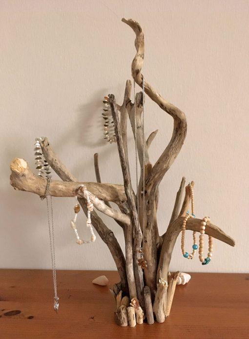 Schmuckständer Treibholz Skulptur