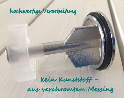 Informationen zum Waschbeckenstöpsel