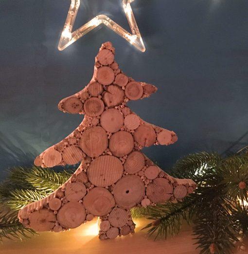 Weihnachtsbaum Treibholz