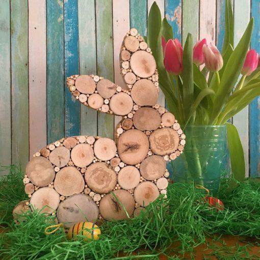 Osterhase aus Treibholz