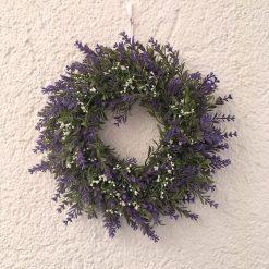 Kranz Lavendel Blütenkranz