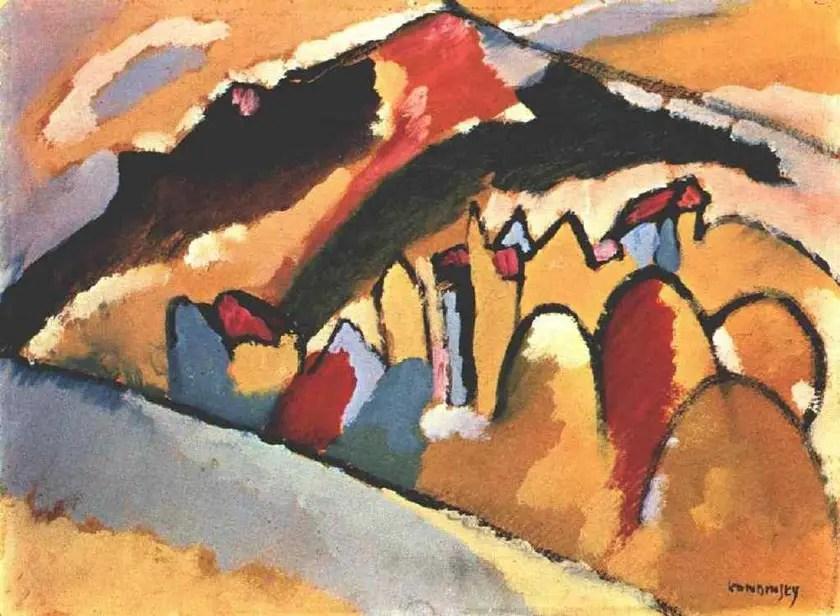 Wassily Kandinsky  Autumn 1909