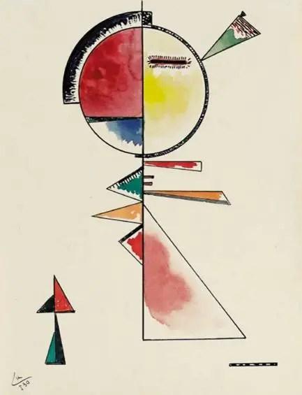Wassily Kandinsky. Unstable Balance, 1930