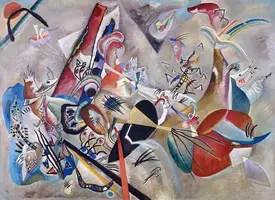 Wassily Kandinsky. In Grey, 1919