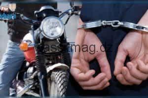 غليزان : توقيف شخص واسترجاع دراجة نارية محل السرقة