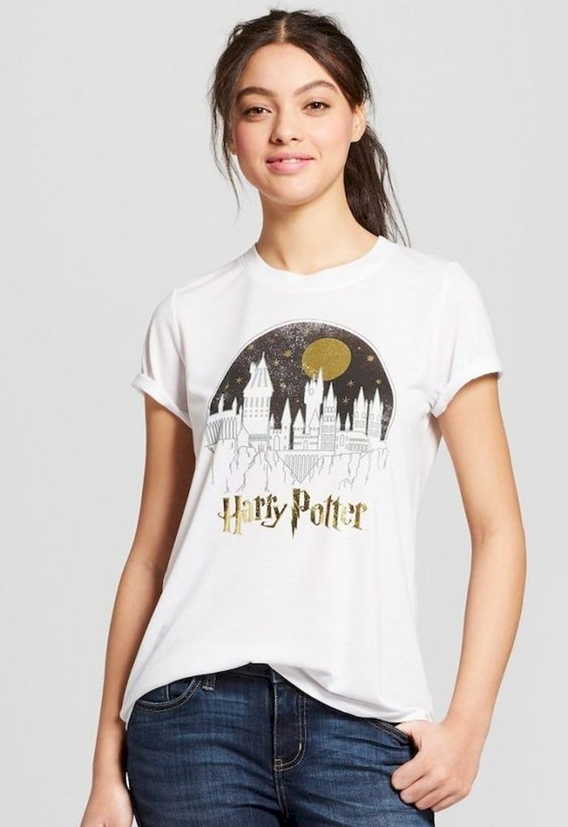 Harry potter t-shirt with white color