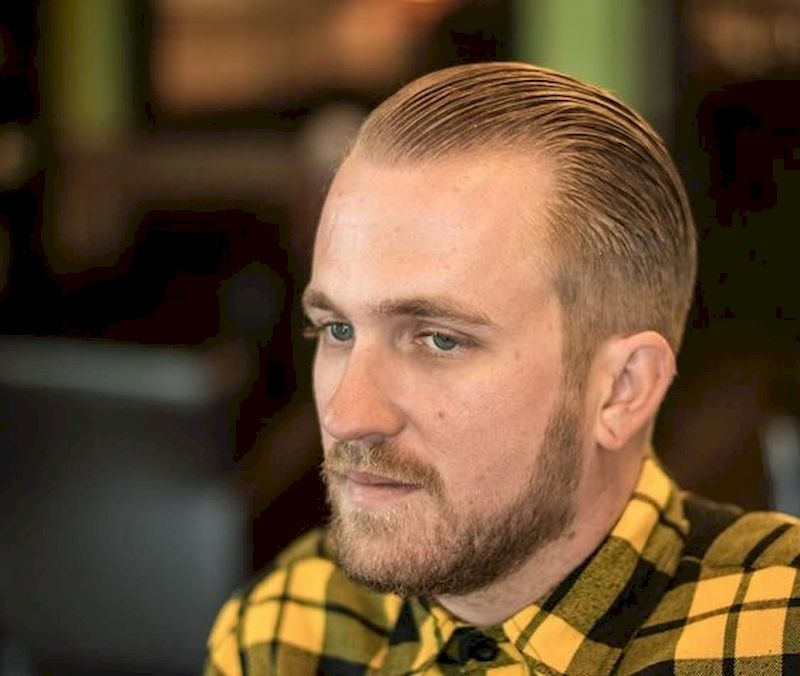 Hairstyles for bald men with blonde thinning hair