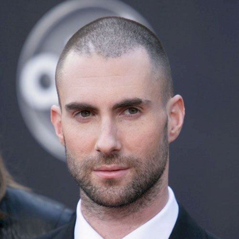 Hairstyles for bald men with short upper pieces