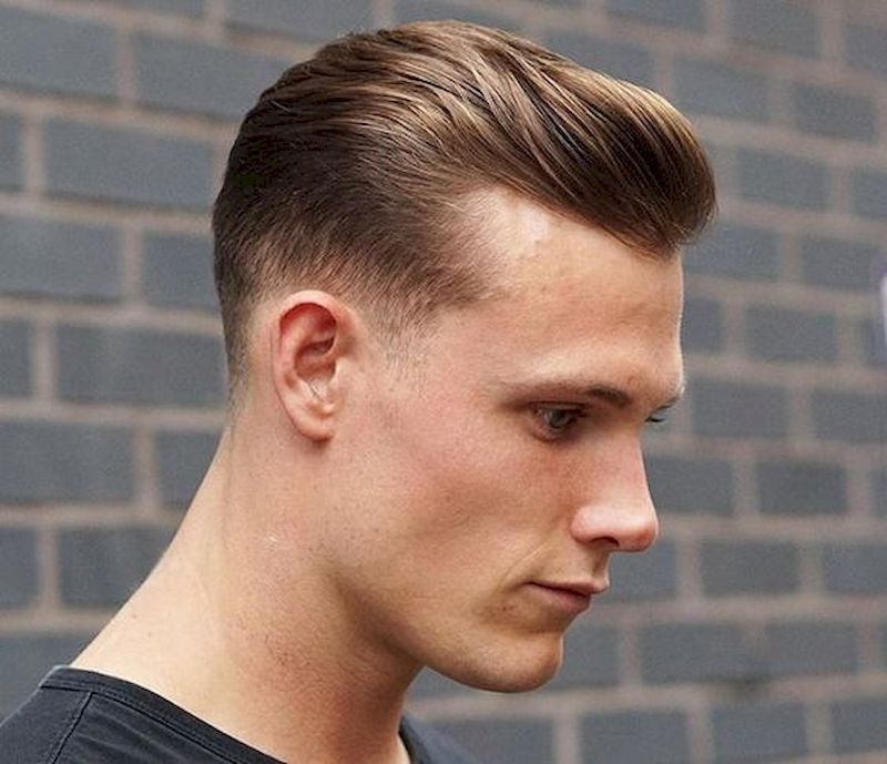 Hairstyles for bald men with upper thick