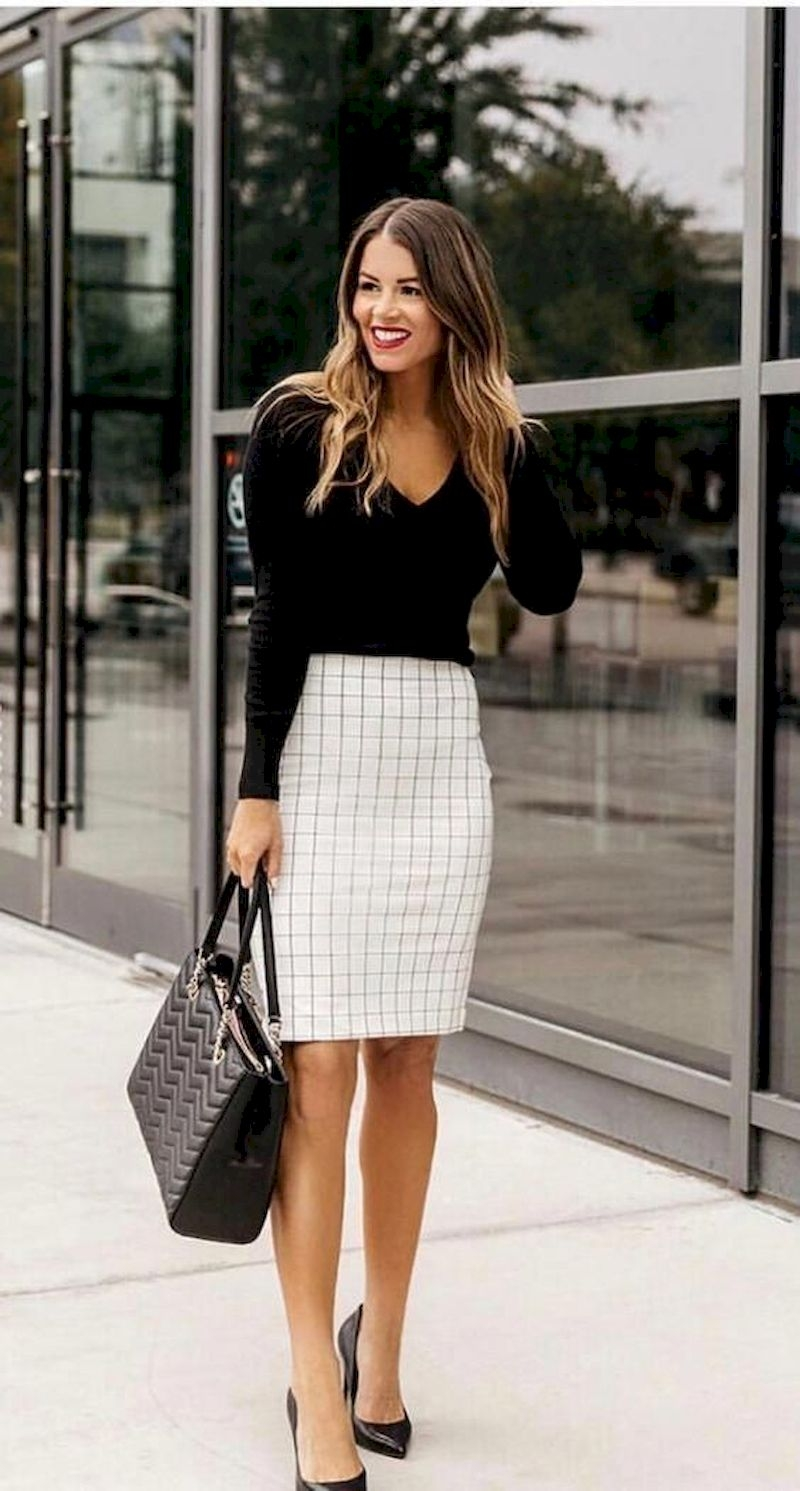 Casual spring outfits with short skirt