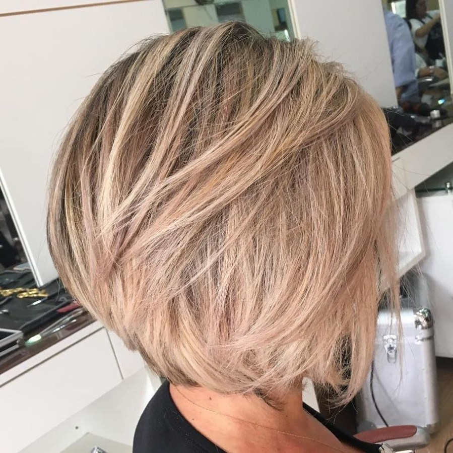 25 Cutest Short Layered Hairstyles for Messy Hair - Wass Sell