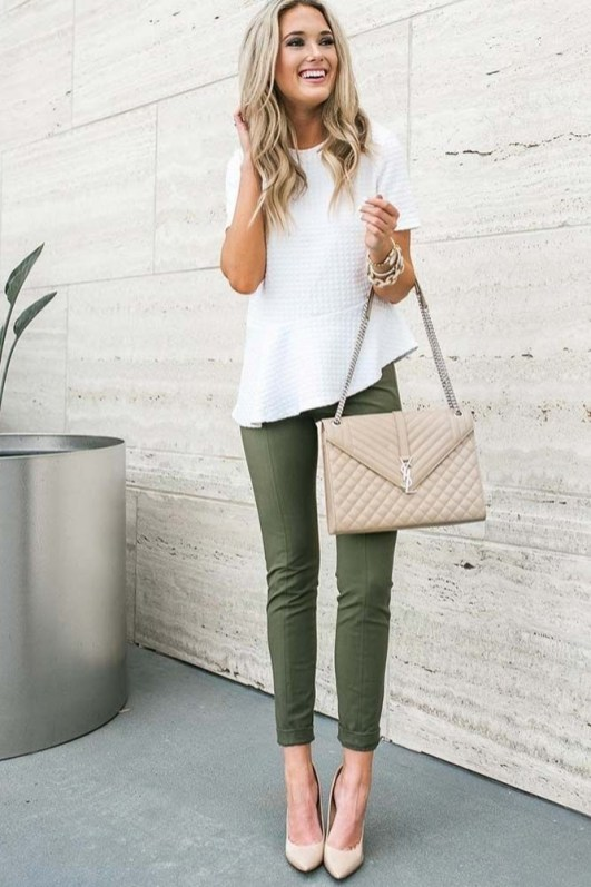30 Stunning Casual Work Outfit For Summer and Spring (2)