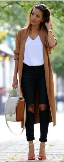 30 Stunning Casual Work Outfit For Summer and Spring (6)