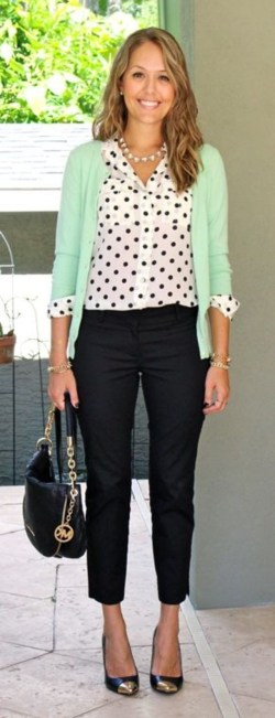 30 Stunning Casual Work Outfit For Summer and Spring (9)
