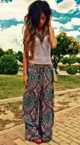 35 Adorable Bohemian Fashion Styles For Spring Summer (25)