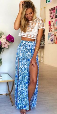 35 Adorable Bohemian Fashion Styles For Spring Summer (28)