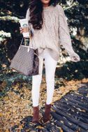 51 Fall Travel Outfit Ideas For You Who Always On The Go (38)