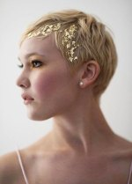 23 Bridal Hairstyles for Short Hair