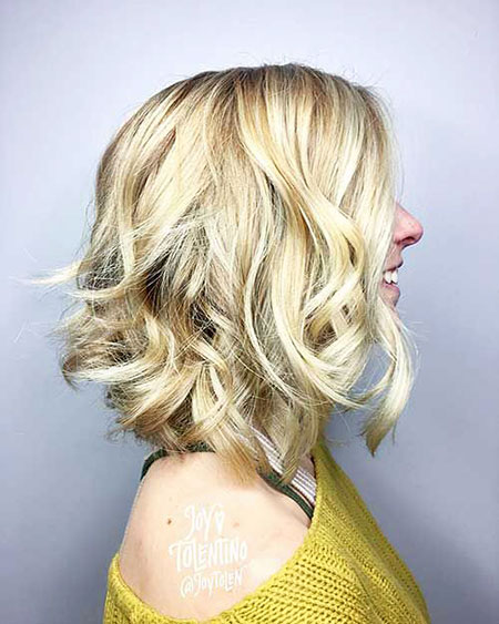 Blonde Layered Layers Hairtyles