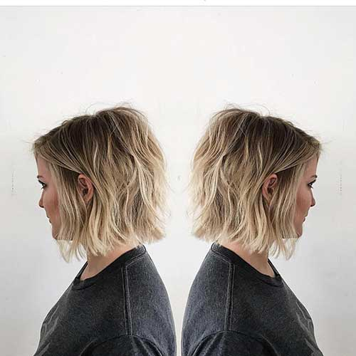 Short Layered Haircuts Fine Hair