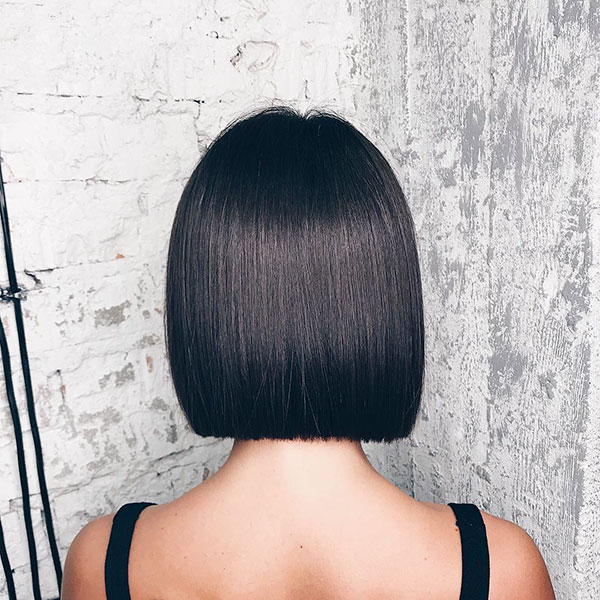 Short Straight Hairstyles 2019