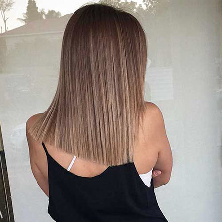 Ombre Woman Thick Straight