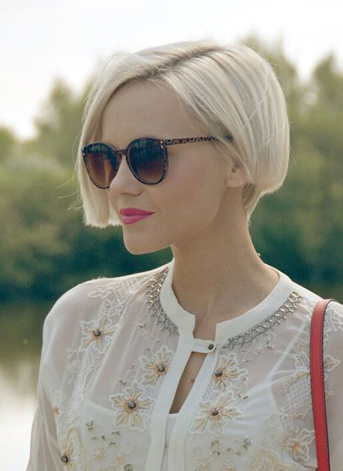 Short Blonde Bob Hairstyles-9