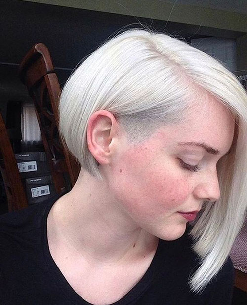 Short Blonde Bob Hairstyles 2019