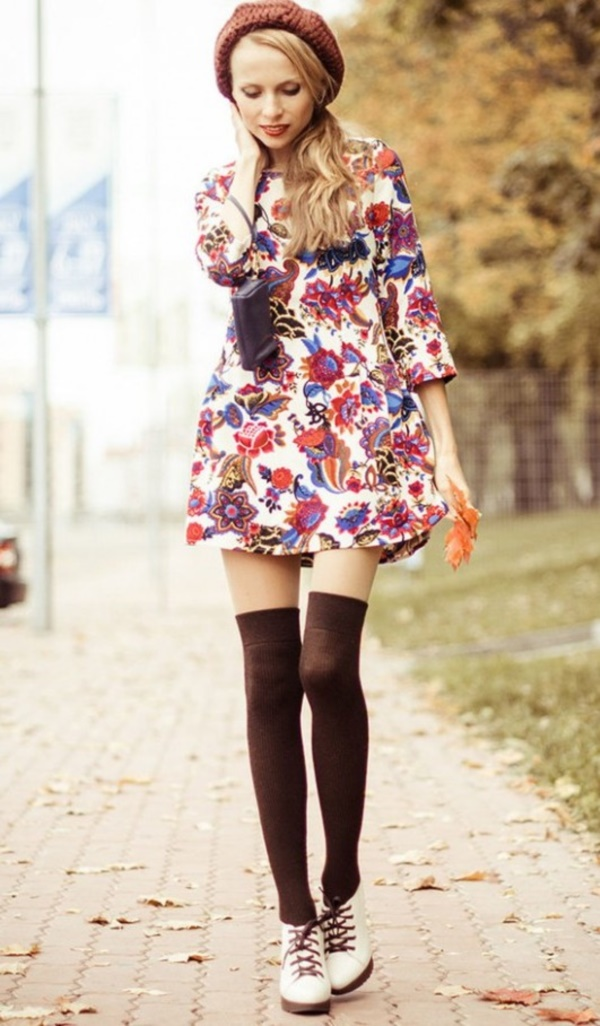 Knee-High-Socks-Outfits