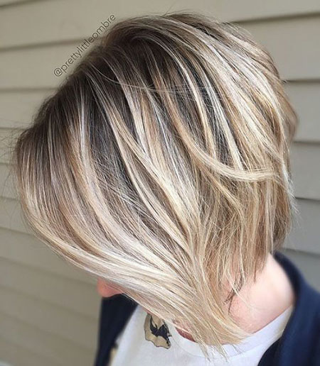 Blonde Balayage Fine Brown