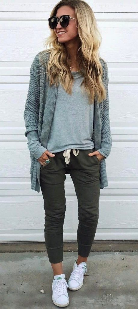 / Knitted Cardigan - Green Skinny's