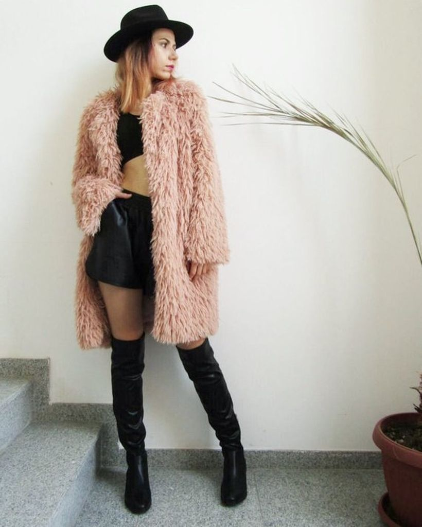 Pink outer jacket