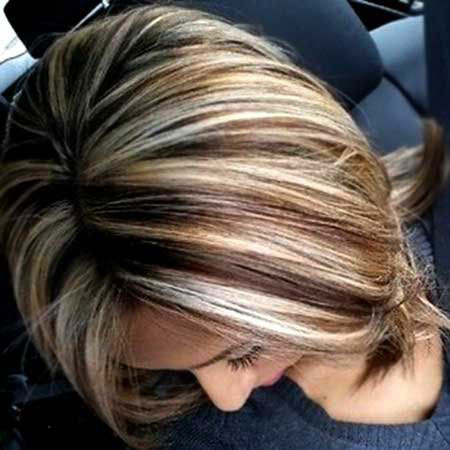 Hair Brown Blonde Color