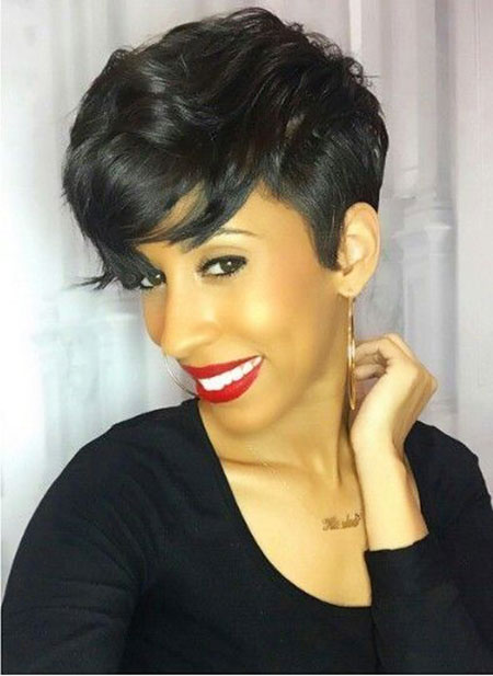 Hair Short Black Women