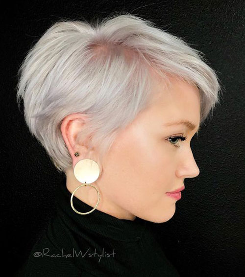 Short Pixie Hairstyles for Fine Thin Hair-11