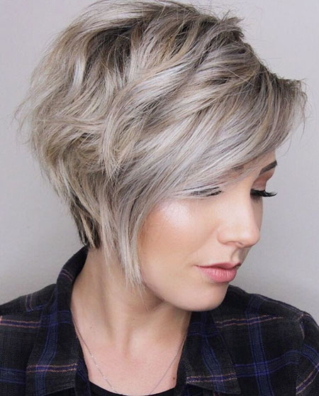 Pixie Choppy Blonde Long