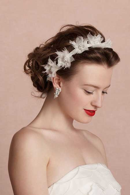 20 Short Hairstyles for Brides_9