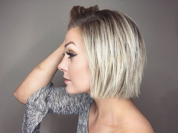 Cropped Bob Haircut